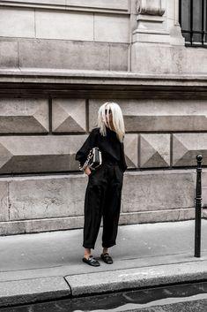 #ProenzaSchouler #IsabelMarant #Aritzia #allblackeverything #Paris #ootd #figtny