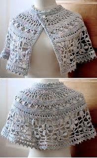 Resultado de imagen de Free Crochet Capelet Patterns