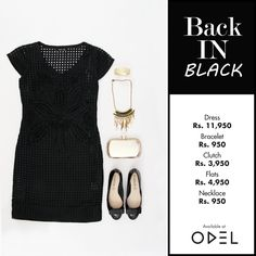 Back IN BLACK!  #ODEL #OdelFashion #OdelStyle #Trend #LifeStyle #Fashion #Style #Colombo