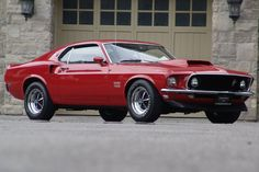 American Muscle Cars…  1969 Ford Mustang Boss 429