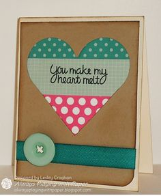 All Heart {Paper Smooches and MUSE} by Lionsmane - Cards and Paper Crafts at Splitcoaststampers