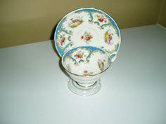 Grosvenor China tea cup and saucer #6714 Rutland