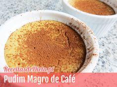 Pudim magro de café #receita #fitness #dieta