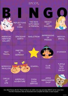 Disney Bingo