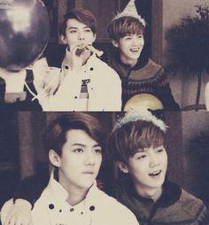 Sehun & Luhan ♡ #EXO #HUNHAN