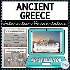 Ancient Greece Interactive Google Slides™ Presentation is the Perfect reading comprehension activity during distance learning! The presentation focuses on Ancient Greece, Persian Wars, Alexander the Great, Sparta and Athens. This ancient history social studies activity is self checking and interactive. Use it when introducing or reviewing Ancient Greece with upper elementary and middle school students. #ancientgreeceactivities #4thgrade #5thgrade #6thgrade #7thgrade #8thgrade Best Presentation Templates, Interactive Presentation, Presentation Backgrounds, Reading Comprehension Activities, Reading Passages, Learning Style Inventory, Ancient Egypt Activities, Upper Elementary Resources, Growth Mindset Posters