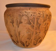 Weller Dechiwo planter Weller Pottery, Lebanon, Vase, Decor, Decoration, Vases, Decorating, Deco, Jars