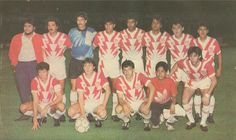 """Equipo correpondiente a la Temporada 1990-91 en que se incorporan el argentino Sergio Diaz y el sensacional chileno y """"Dios del Rayo"""" Ivo """"El Hueso"""" Basay."""