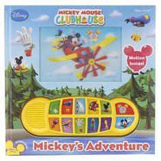 Mickey Mouse Clubhouse Play-A-Sound Book: Mickey's Adventure