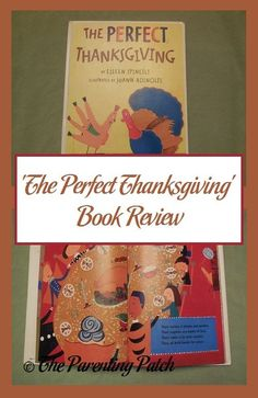 Positive book review of 'The Perfect Thanksgiving' by Eileen Spinelli and illustrated by Joann Adinolfi.