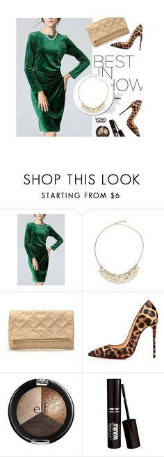 """""""Yoins 5/1.3"""" by merima-kopic ❤ liked on Polyvore featuring Christian Louboutin, yoins and yoinscollection"""