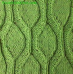Drops knitting stitches