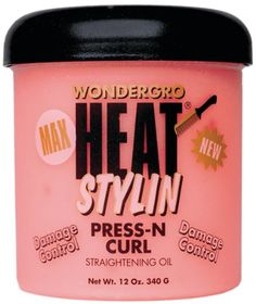 Wonder-gro Max Heat Styling Press N Curl Straigtening Oil 12 Oz *** This is an Amazon Affiliate link. Details can be found by clicking on the image.