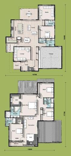 Empress, Two Storey House Plan http://www.buildingbuddy.com.au/two-storey-house-plans/empress-two-storey-house-plan/