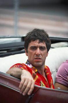 Al Pacino en una escena de 'Scarface' dirigida por Brian De Palma (1983)