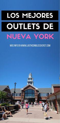 [LISTA] Los mejores outlets de Nueva York para ir de compras y ahorrar. #NuevaYork #NY #NYC #NewYork