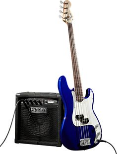 Squier Affinity Precision Bass Package
