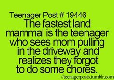 teenager posts. ♕ That is so totally me!