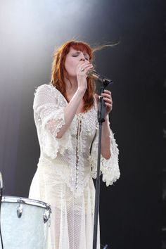 Florence Welch. Insane voice and such a strong woman.