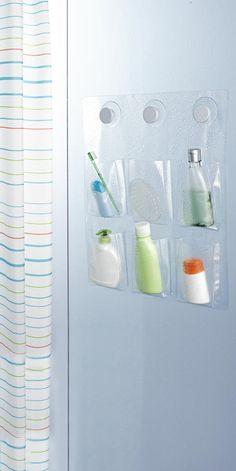Sorgt für #Ordnung in der Dusche - transparenter #Dusch-Organizer für €9,95 bei #Tchibo