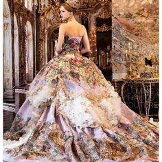 """Stella de Libero Marie Antoinette inspired gown """