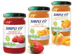 Real Fruit Jam 12 oz 3 Jar Gift Pack...