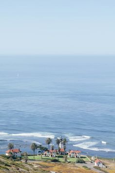 The point of Point Loma, San Diego.