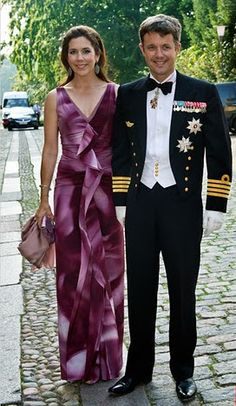 What Princess Mary Wore: 3 September 2011 - Wedding of Greggers Flemming