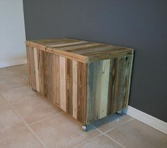 Chest Made From Pallets | Pallet Furniture DIY
