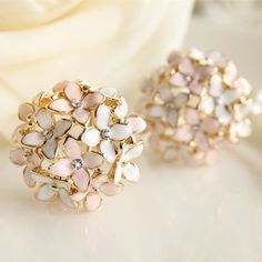 Cheap earrings stick, Buy Quality stud earrings men directly from China earrings sterling Suppliers: 2014 Hot Pendientes Double Earrings Boucle D'oreille Bijoux For Women Jewelry Ceramic Flower Stud Earrings Brincos E1030
