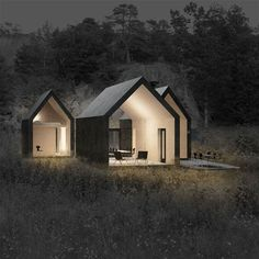 Herfell cabin by Reiulf Ramstad Architects More