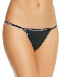 Calvin Klein Id Thong #QF1753