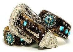 BHW CoWgiRl WeStErN BrOwN BriNdLe TuRqUoiSe-AB BeRrY CoNcHo HaiR BeLt