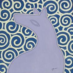 """andrea mattiello """"Moonlight"""" acrilico e grafite su tela cm 30x30; 2015 #andreamattiello #artistaemergente #emergingartist #artecontemporanea #contemporaryart"""