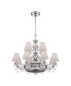 Elegant Savoy House Coromell 38 Inch Chandelier Ceiling Fan. Kronleuchter  DeckenventilatorenHauptschlafzimmer ...