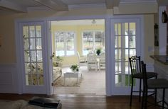 Cozy Sunroom Design with Patio Furniture Arrangement Sunroom Decorating, Sunroom Ideas, Decorating Ideas, Porch Ideas, Decor Ideas, Interior Decorating, Craft Ideas, Small Sunroom, Sunroom Windows