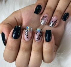 Elegant Nail Designs, Cute Nail Art Designs, Elegant Nails, Sparkly Nails, Rose Gold Nails, Cute Nails, Pretty Nails, Butterfly Nail Art, Glamour Nails