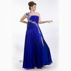 Description: Gorgeous one shoulder gown has a ruched bodice with glittering floral print embellishment highlighting the curved strap. The sheer overlay skirt has a high side slit. Evening Dresses, Prom Dresses, Formal Dresses, One Shoulder Gown, Plus Size Dresses, Overlay, Bodice, Floral Prints, Product Description