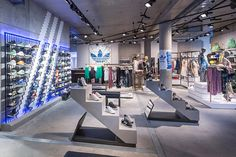 Adidas Originals flagship store, Berlin – Germany » Retail Design Blog