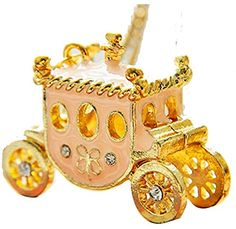 Vintage Cute Golden Cinderella Pumpkin Car Carriage Long Pendant Necklace Gift TRURENDI http://www.amazon.com/dp/B00QLFU2EM/ref=cm_sw_r_pi_dp_Ks2twb1Z8E8XA