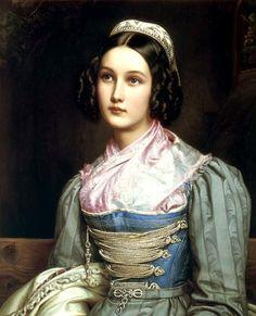 1831 Helene Sedlmayr by Joseph karl Stieler