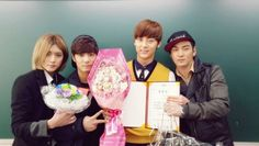 NU'EST's Minhyun, and more also graduate high school | allkpop
