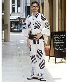 山口源兵衛 源氏香 / Men's summer kimono on ShopStyle