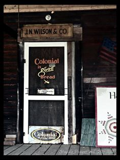 Old country store.