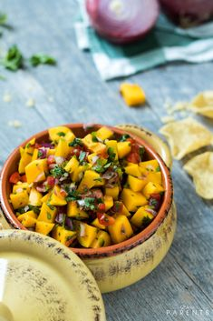 If you've ever wondered how to make mango salsa, this easy mango salsa recipe is for you! We use all fresh ingredients for the best mango salsa recipe you'll find! The Best Mango Salsa Recipe, Mango Salsa Recipes, Fruit Salsa, Meal Planning, Meal Prep, Healthy Snacks, Clean Eating, Cooking Recipes