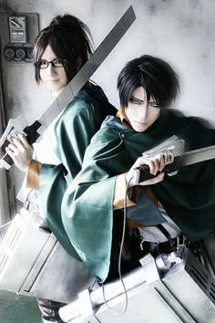Levi This is an awesome cosplay best one i have seen