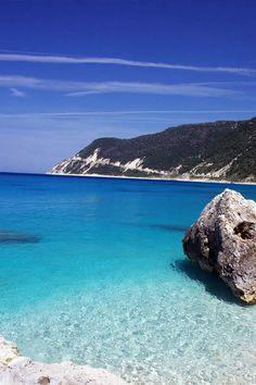 Lefkada Island Ionian Sea