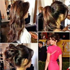 Nina Dobrev Cuts Her Hair Before the SAG Awards - The Vampire Diaries