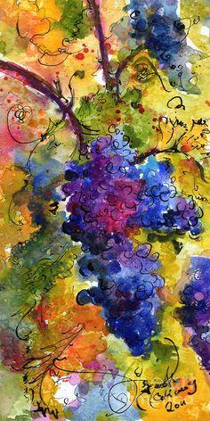 Umetnost vina na platnu // A maze of wine colours