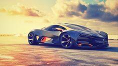 Скачать обои lada, raven, concept, 2014. car, sun, sky, supercar, лада, раздел суперкары в разрешении 1920x1080